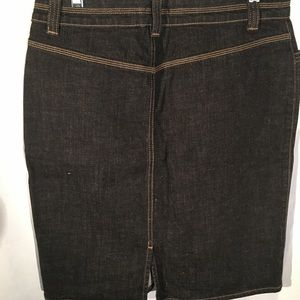 Axcess by Liz Claiborn Skirts - Stretch Denim Skirt